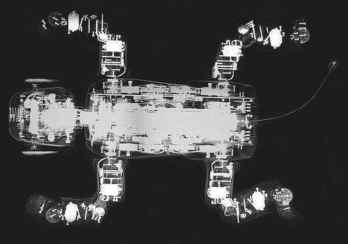 AIBO ERS-110 上からの写真
